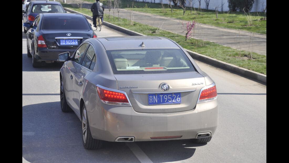 General Motors auf Chinas Strassen