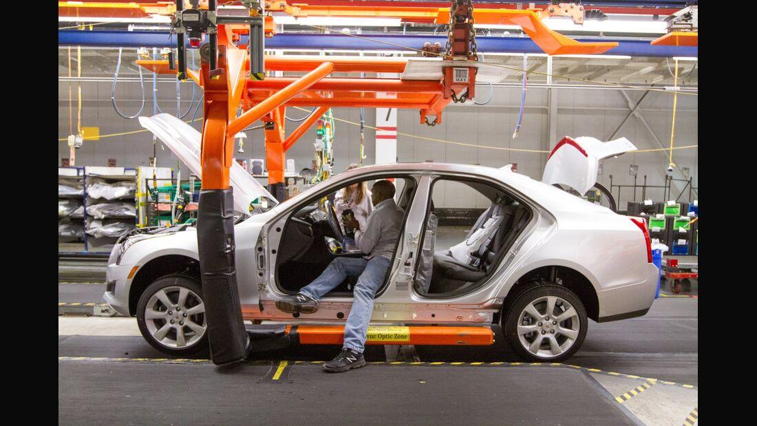 General Motors hat 2014 bislang mit Abstand die meisten Fahrzeuge zurückgerufen.