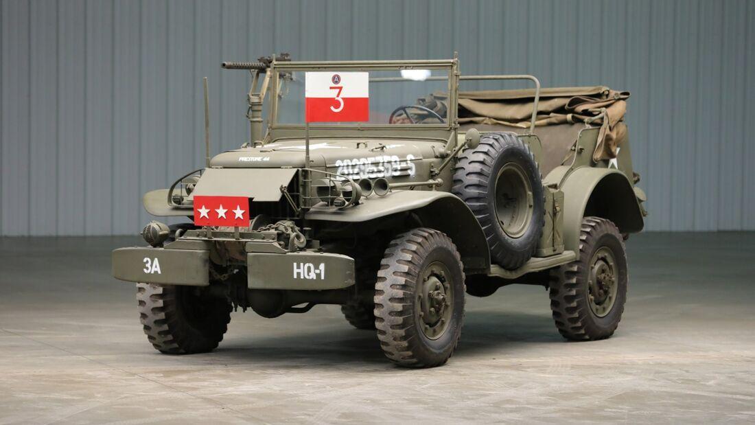 General Pattons Dodge WC 57 Command Car
