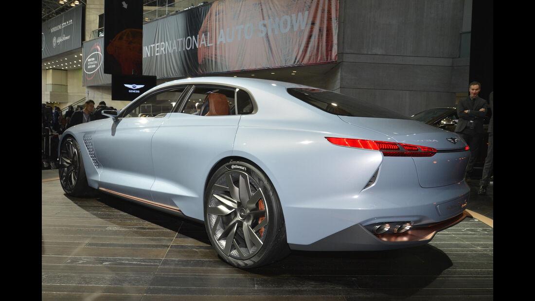 Genesis New York Concept 2016, Heck