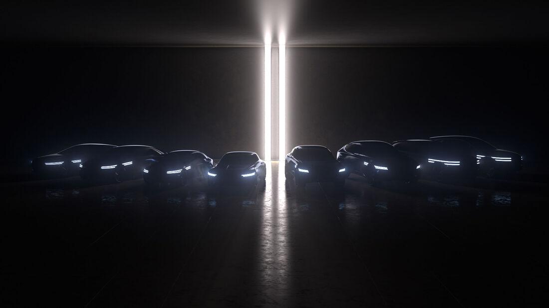 Genesis Teaser 8 Elektroautos bis 2025