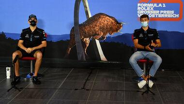 George Russel & Nicholas Latifi - GP Österreich 2020