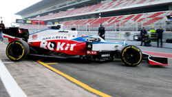 George Russell - F1 - Shakedown - Barcelona 2020