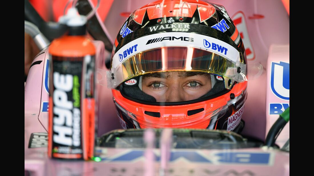 George Russell - Force India - Formel 1 - GP Brasilien - 10. November 2017