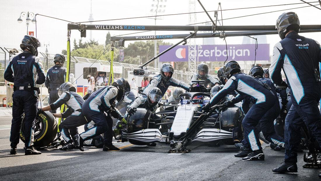 George Russell - Formel 1 - GP Aserbaidschan 2021