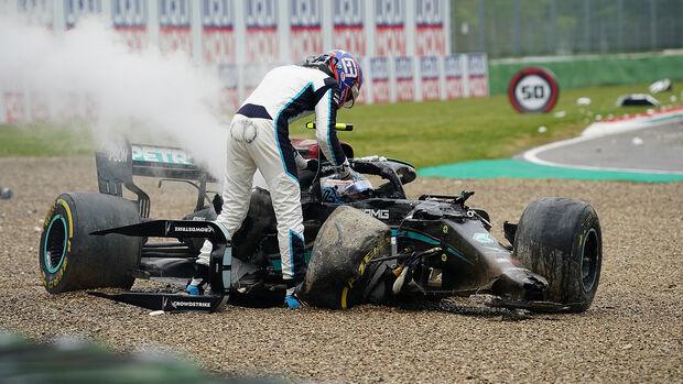 George Russell - Formel 1 - GP Emilia Romagna - Imola 2021