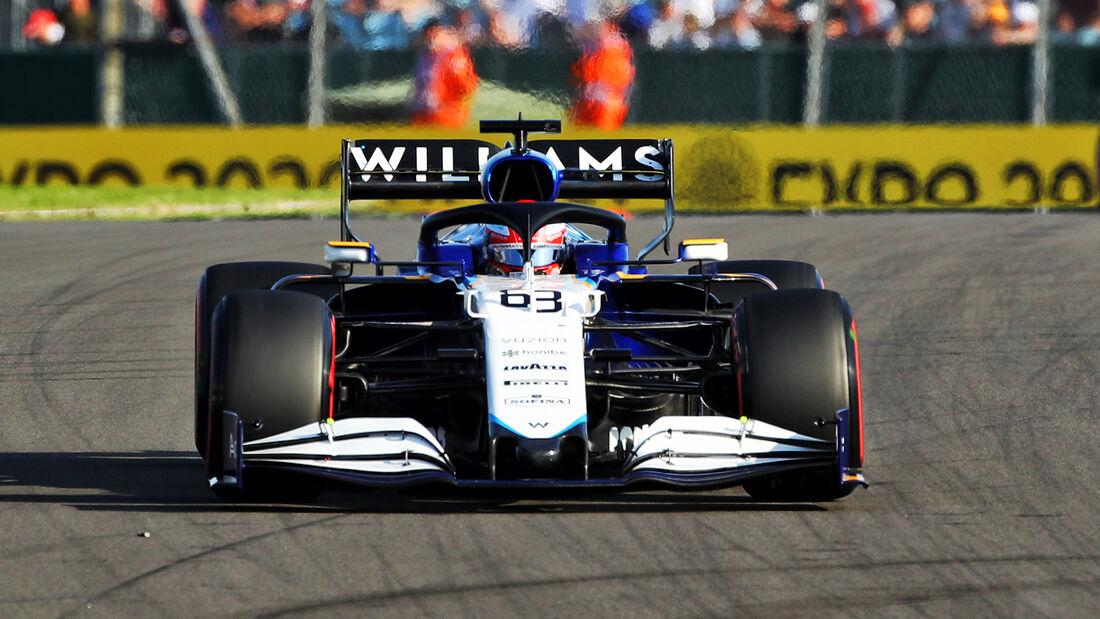 George Russell - Formel 1 - GP England 2021