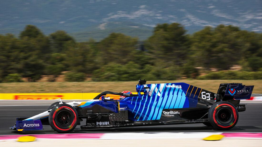 George Russell - Formel 1 - GP Frankreich 2021