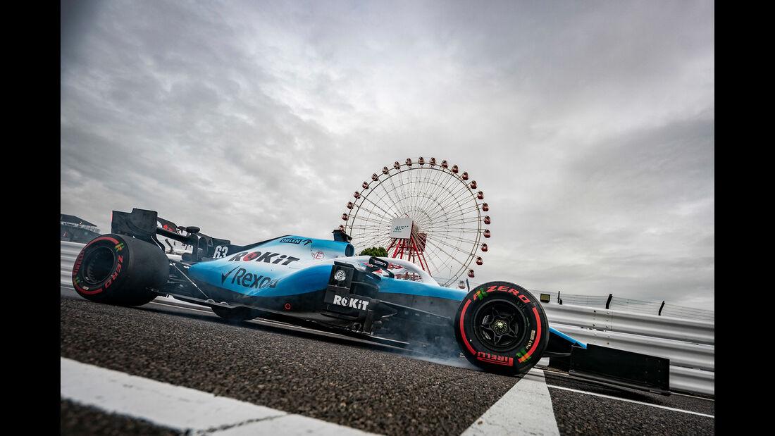 George Russell - Formel 1  - GP Japan 2019