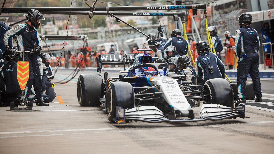 George Russell - Formel 1 - GP Russland 2021