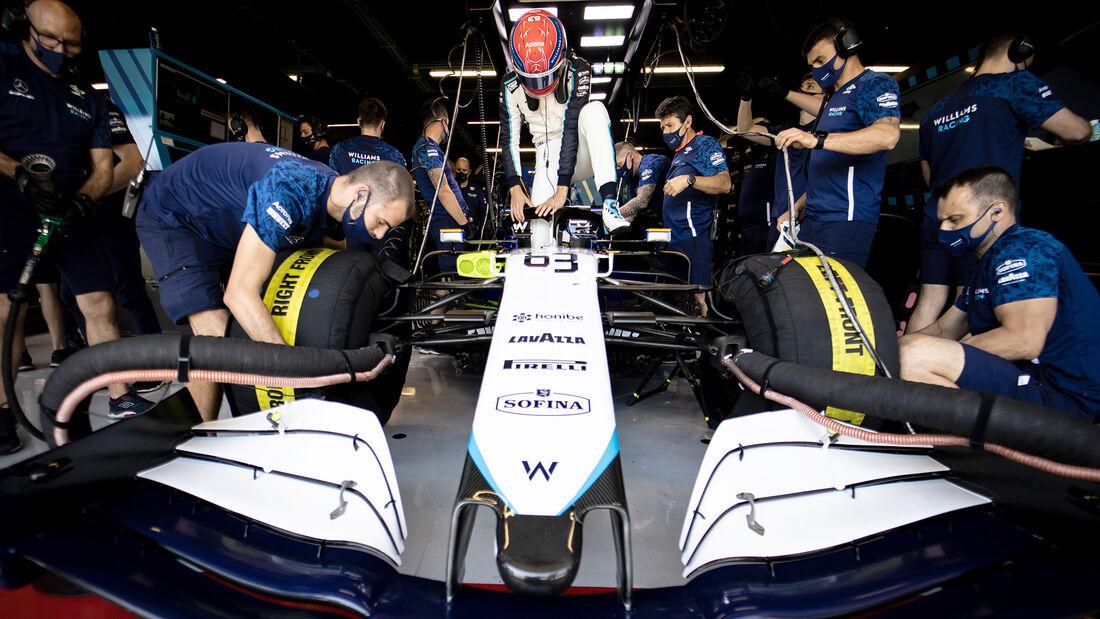 George Russell - Formel 1 - GP Spanien 2021