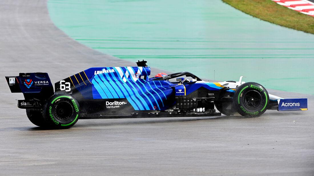 George Russell - Formel 1 - GP Türkei - Istanbul - 2021
