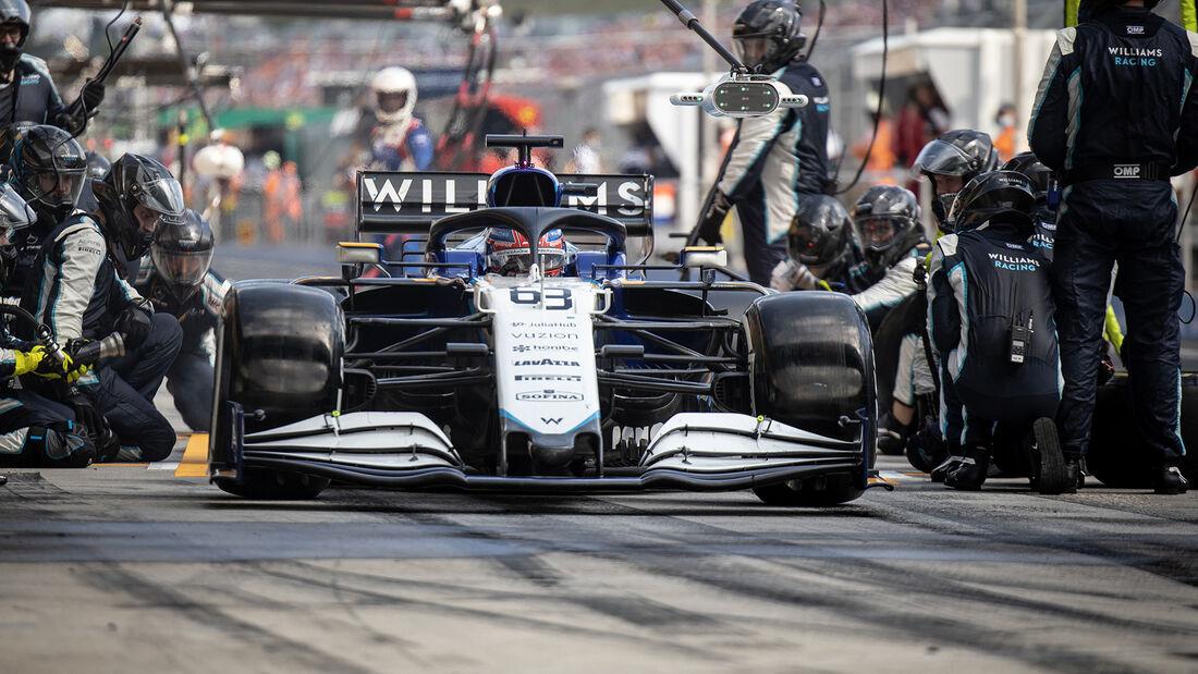 George Russell - Formel 1 - GP Ungarn 2021