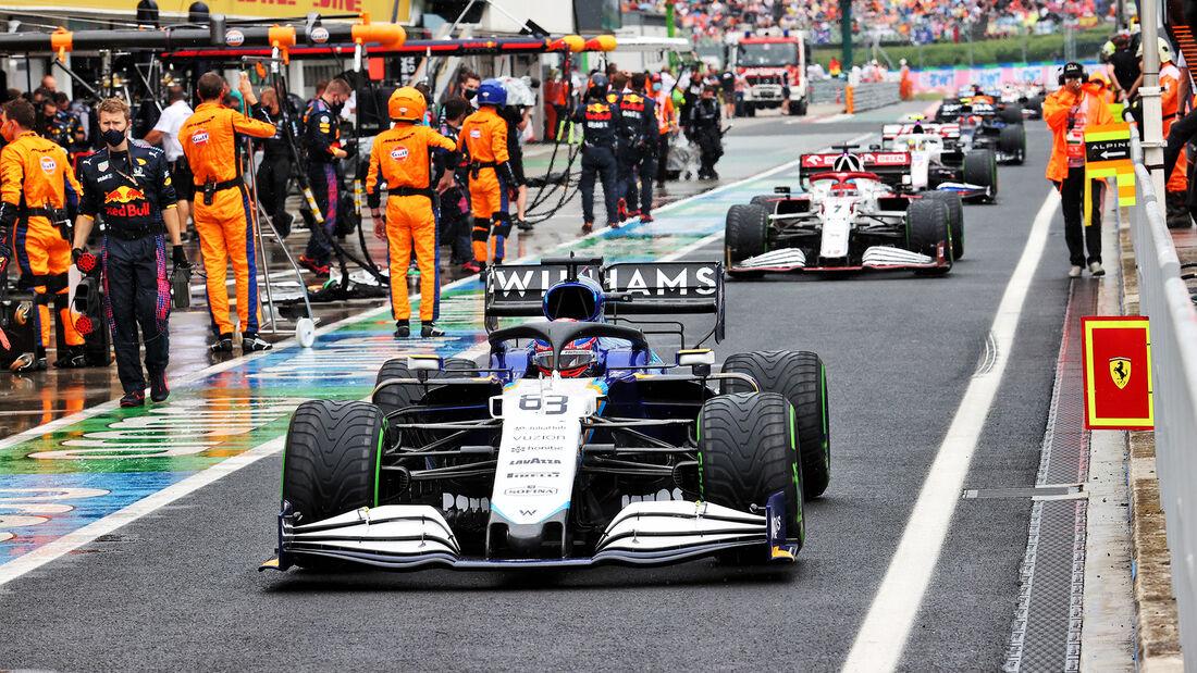 George Russell - Formel 1 - GP Ungarn - 2021