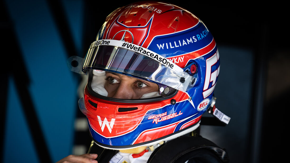 George Russell - Formel 1 - Helm - 2021