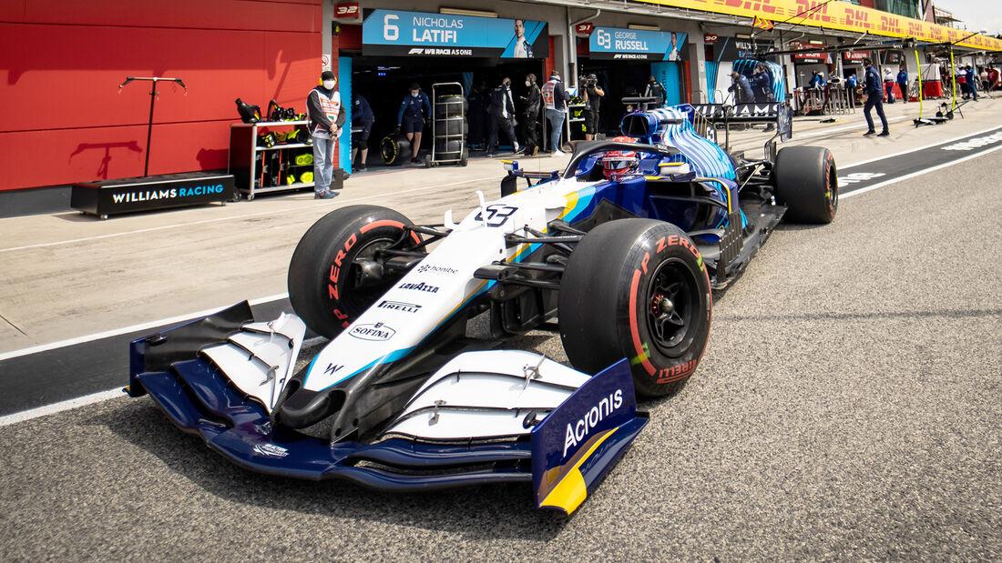 George Russell - Formel 1  - Imola - GP Emilia Romagna 2021