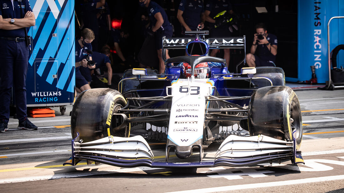 George Russell - Formel 1 - Monza - GP Italien 2021