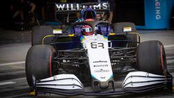 George Russell - Formel 1 - Test - Bahrain - 14. März 2021