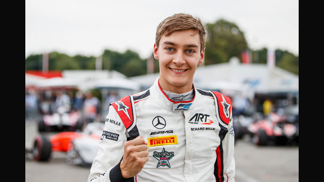 George Russell - Formel 2 - 2018