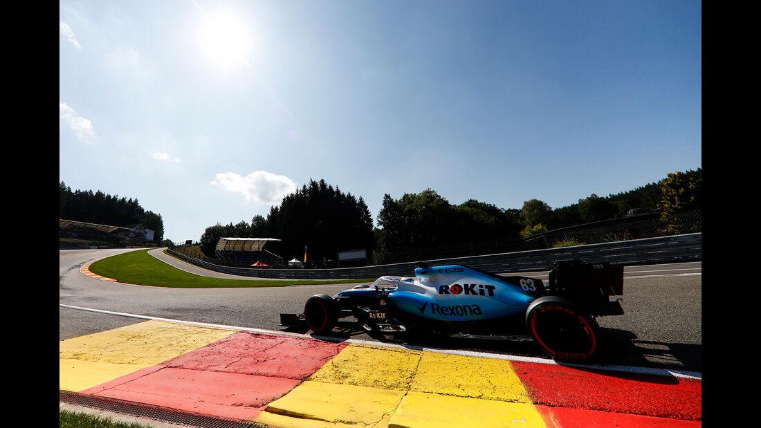 George Russell - GP Belgien 2019