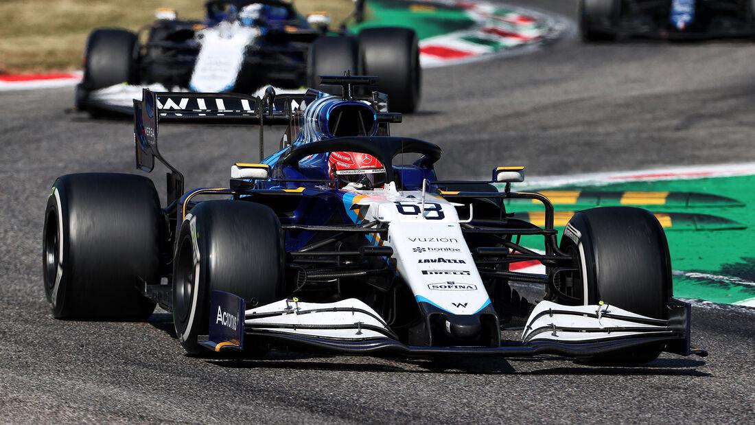 George Russell - GP Italien - Monza - 2021