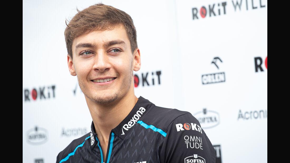 George Russell - GP Russland 2019