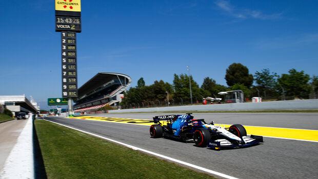 George Russell - GP Spanien 2021
