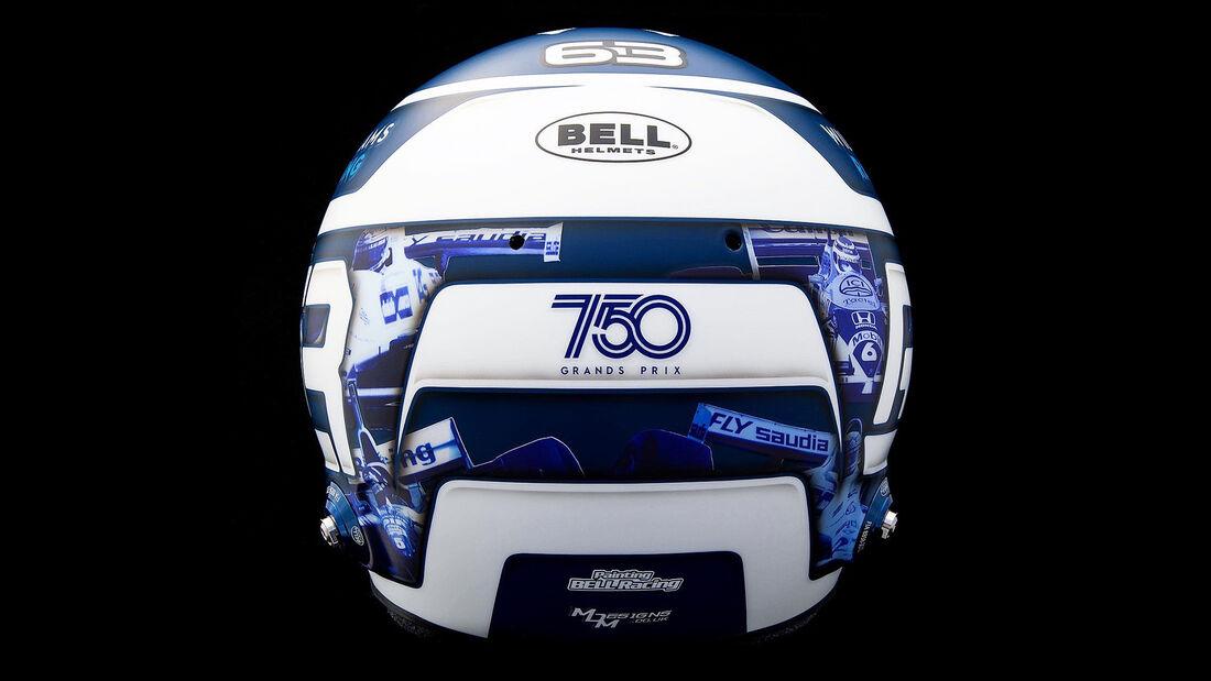 George Russell - Helm-Design - GP Monaco 2021