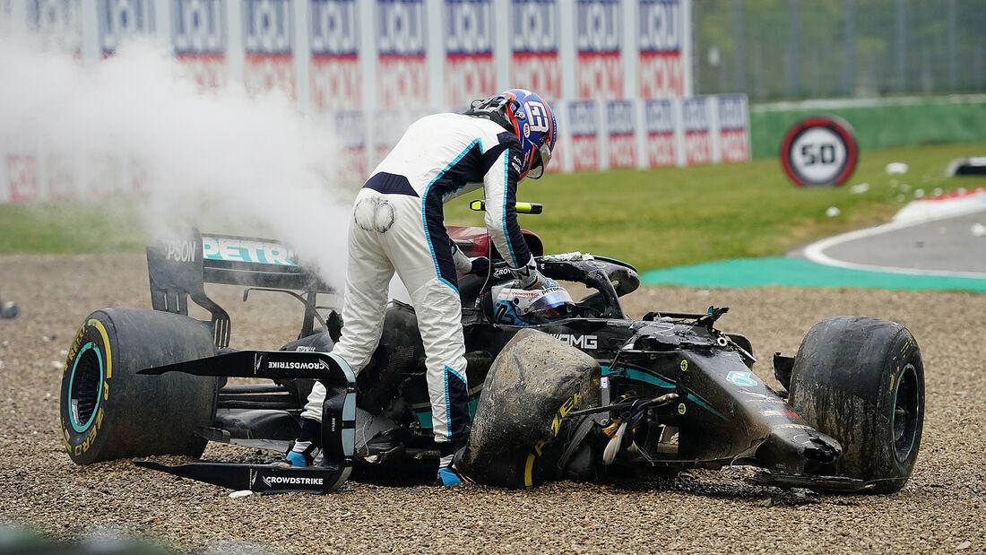 George Russell - Imola - Formel 1 - GP Emilia Romagna - 2021