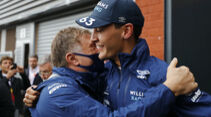 George Russell - Jost Capito - Williams - Formel 1 - GP Belgien - 28. August 2021