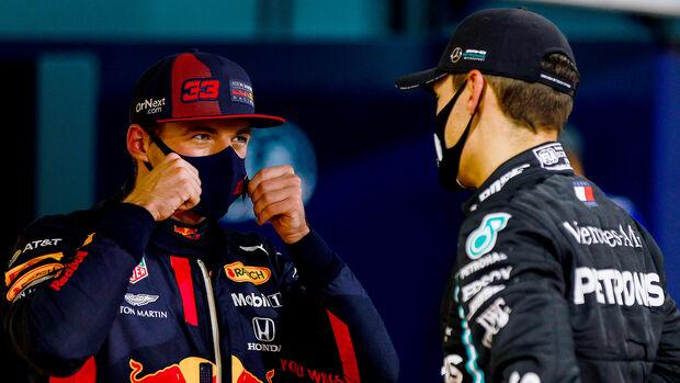 George Russell - Max Verstappen - GP Bahrain 2020