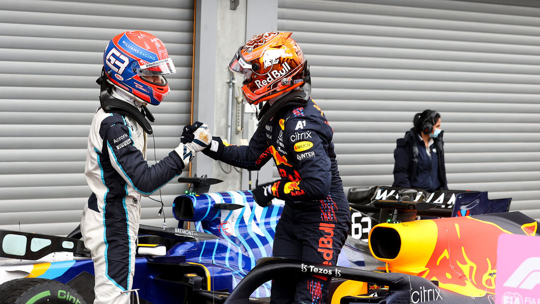 George Russell - Max Verstappen - GP Belgien 2021 - Spa-Francorchamps