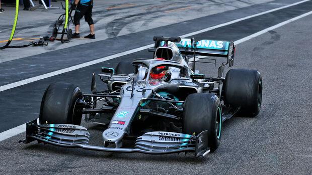 George Russell - Mercedes - Abu Dhabi - Testfahrten 2019