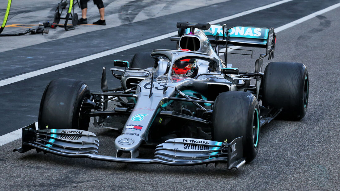 George Russell - Mercedes - F1-Test - Abu Dhabi - 4. Dezember 2019