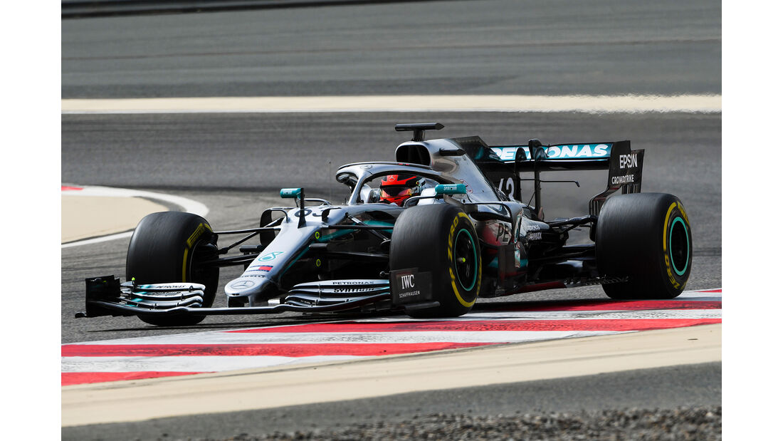 George Russell - Mercedes - F1-Test Bahrain - 3. April 2019