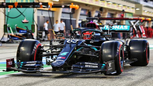 George Russell - Mercedes - Formel 1 - GP Sakhir - Bahrain - Freitag - 4.12.2020