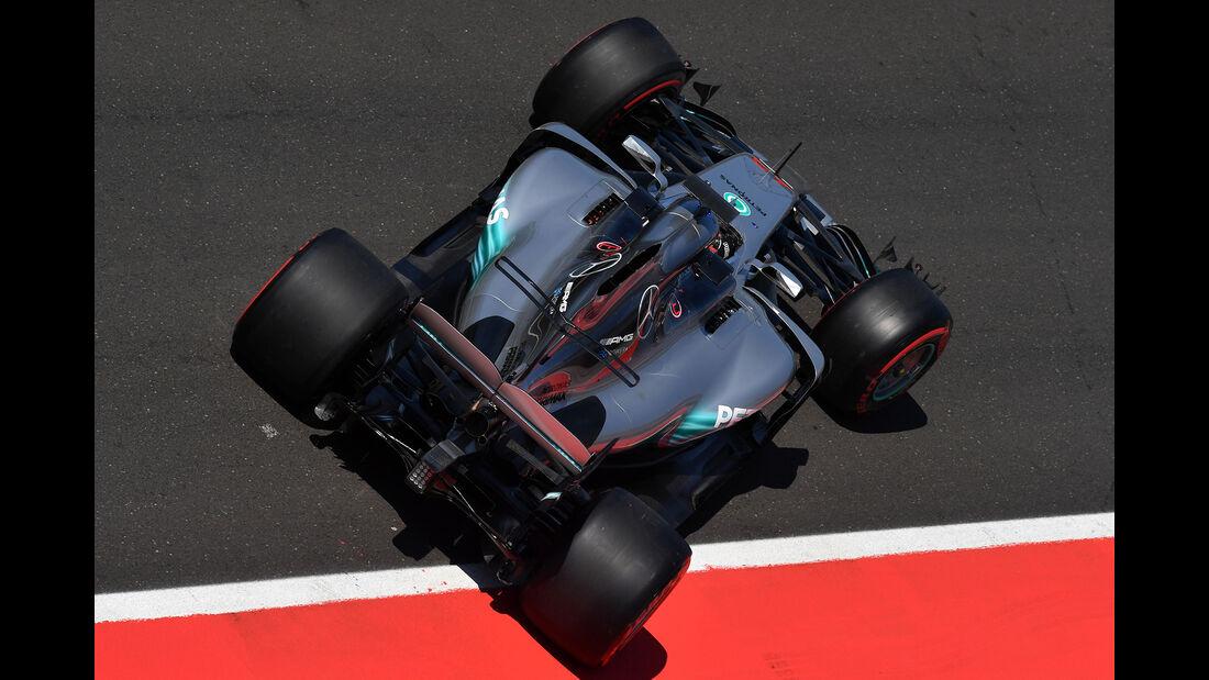 George Russell - Mercedes - Formel 1 - Test - Ungarn - Budapest - 1. August 2017