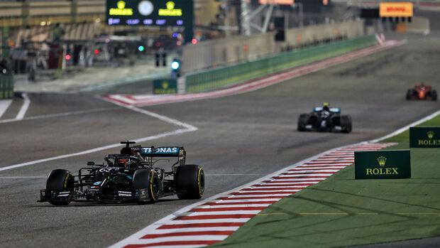 George Russell - Mercedes  - GP Sakhir 2020 - Bahrain - Rennen