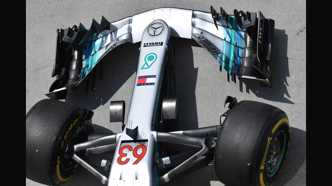 George Russell - Mercedes - GP Ungarn - Budapest - F1-Test - 31. Juli 2018