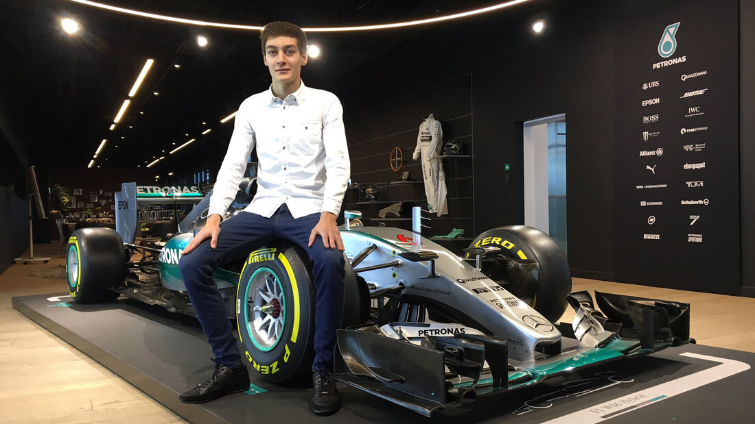 George Russell - Mercedes Junior - F1 - 2017