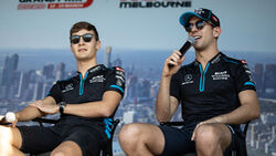 George Russell - Nicholas Latifi - Williams - Formel 1