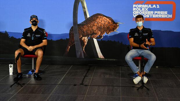 George Russell & Nicholas Latifi - Williams - Formel 1 - GP Österreich - Spielberg - 2. Juli 2020