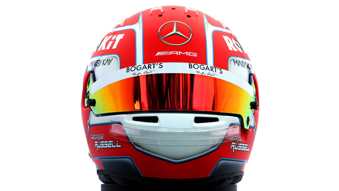 George Russell - Porträt & Helm - Formel 1 - 2020