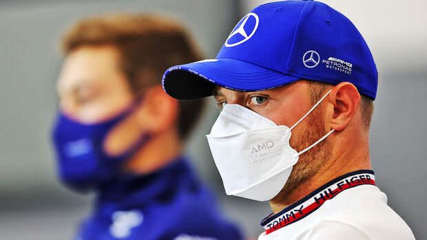George Russell & Valtteri Bottas - GP Belgien - Spa-Francorchamps - 26. August 2021
