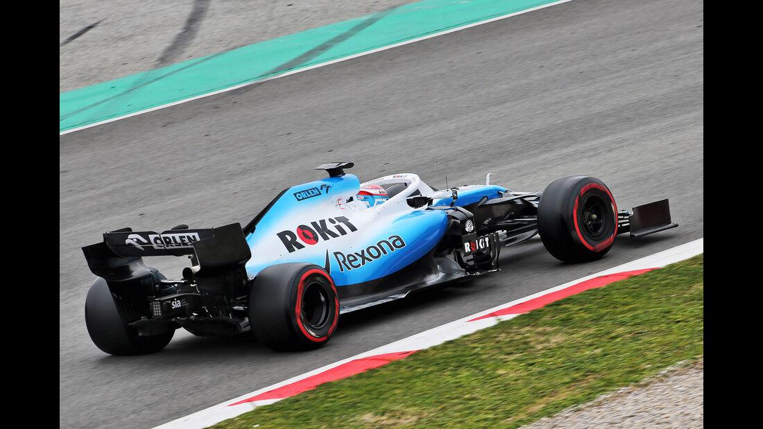 George Russell - Williams - Barcelona - F1-Test - 20. Februar 2019