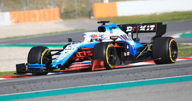George Russell - Williams - Barcelona - F1-Test - 28. Februar 2019