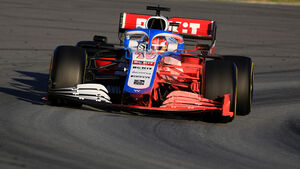 George Russell - Williams - Barcelona-Test - 2020