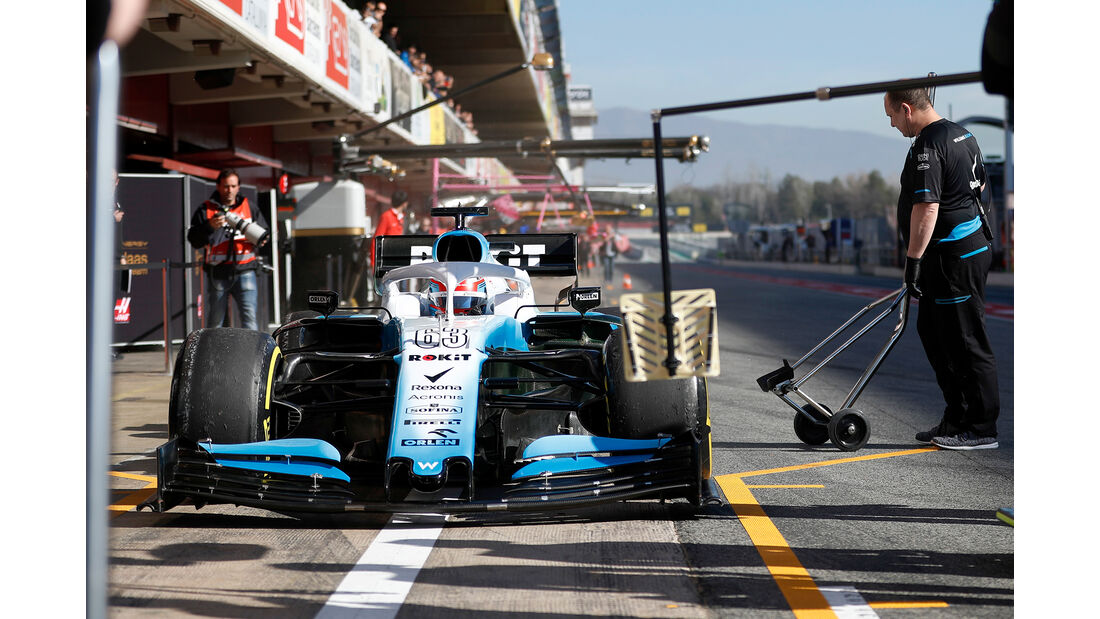 George Russell - Williams - F1-Test - 26. Februar 2019