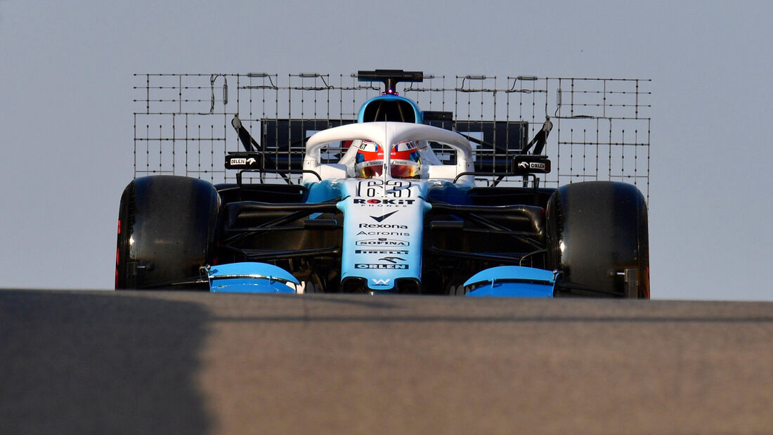 George Russell - Williams - F1-Test - Abu Dhabi - 3. Dezember 2019