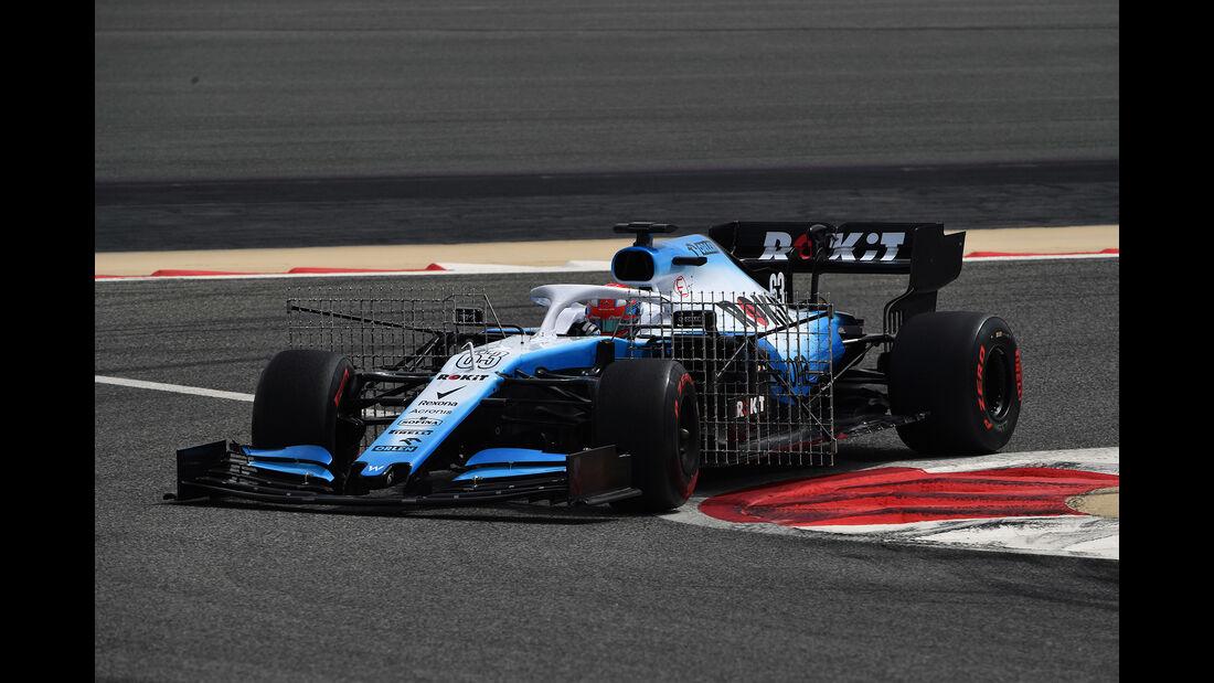 George Russell - Williams - F1-Test - Bahrain - 2. April 2019